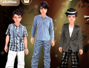 Jonas Dress Up